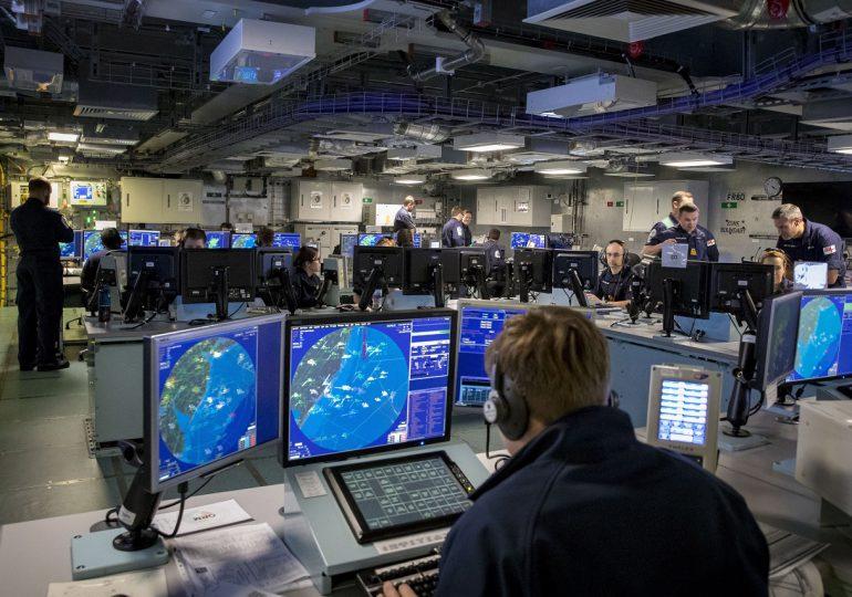 VIRTUAL WARRIOR - ВМФ ВЕЛИКОБРИТАНИИ ПРОВОДИТ ВИРТУАЛЬНЫЕ УЧЕНИЯ