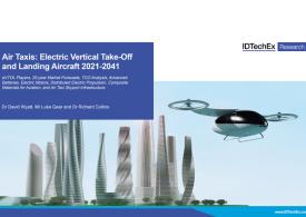 Электрические самолеты вертикального взлета и посадки 2021-2041